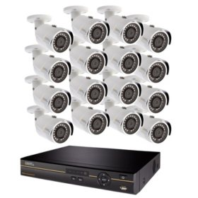 Q-See 16-Channel 5MP DVR Surveillance System with 2TB Hard Drive, 16-Camera 5MP In