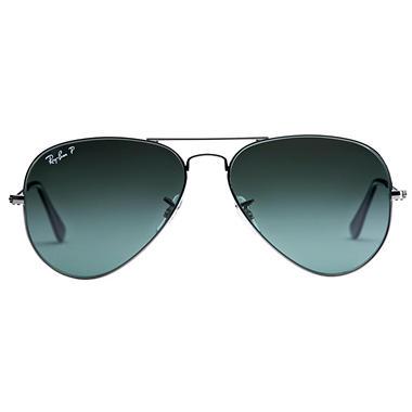 b634110e23 Ray-Ban Aviator Classic Polarized Sunglasses - Sam s Club
