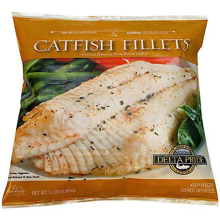 Delta Pride Catfish Fillets (3 lb.)