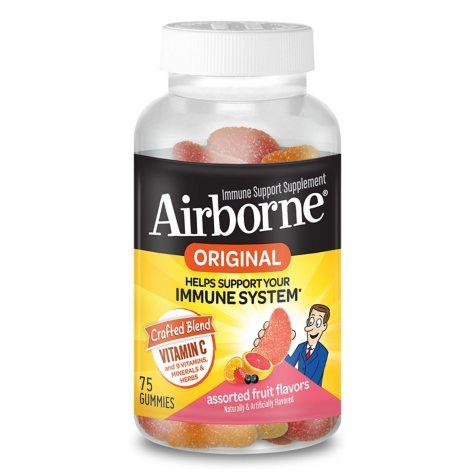 Airborne Assorted Fruit Flavored Gummies (75 ct.)