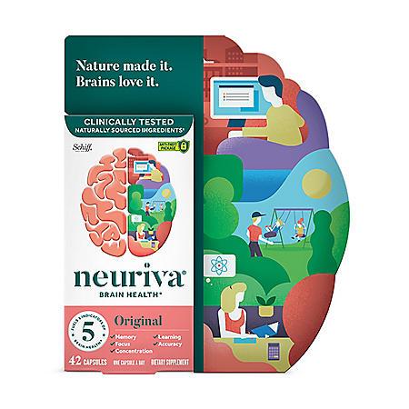 Neuriva Original Brain Performance Supplement (42 ct.)