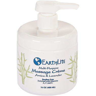 EarthLite Multi-Purpose Massage Crème - 16 oz