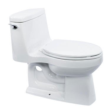 Kohler Santa Rosa >> Kohler Santa Rosa 1 Piece Elongated Toilet White Sam S Club