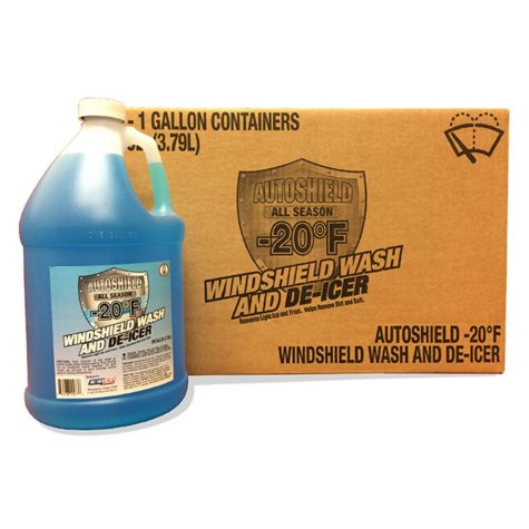 Autoshield Windshield Washer Fluid with De-Icer (6 pk., 1-gal. bottles)