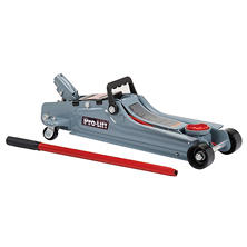 Pro-Lift Low Profile Floor Jack - 2 Ton Capacity (Grey)