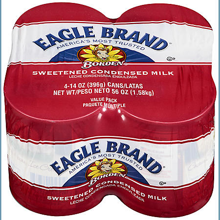 Sweetened Condensed Milk - 14 oz. cans - 4 pk.