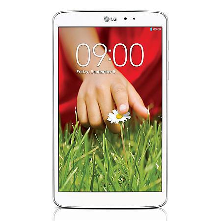 """8.3"""" LG G Pad 8.3 Tablet- 16GB White"""