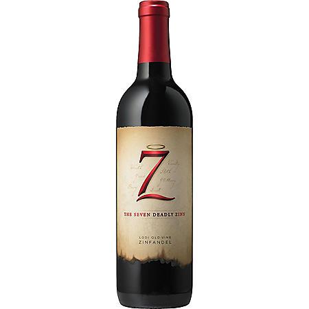 7 Deadly Zins Zinfandel (750 ml)