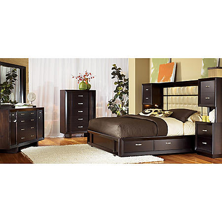 Solutions Cal King Bedroom Set - 3 pc.