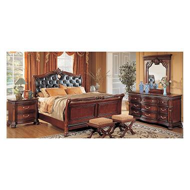Villa Veneto Queen Bedroom Set   4 Pc.