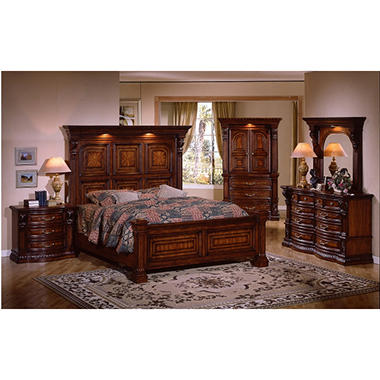 Estates II King Bedroom Set - 5 pc. - Sam\'s Club