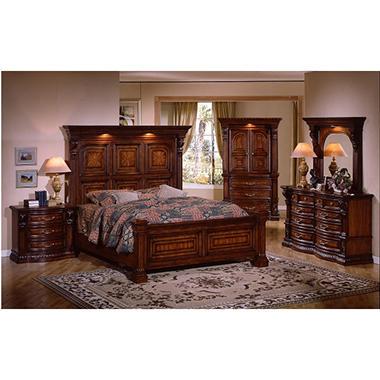 Estates II King Bedroom Set - 5 pc. - Sam\'s Club