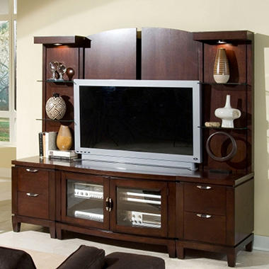 Caprice Entertainment Center Wall Unit