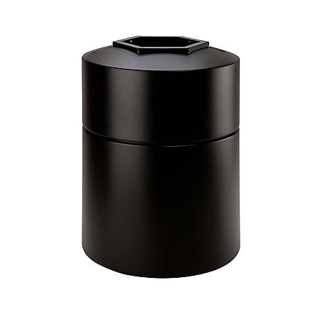 Commercial Zone Round Waste Container, 45 Gallon