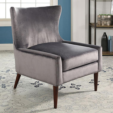 Sterling Velvet Wingback Chair Orted Colors