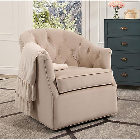 Rory Swivel Club Chair (Assorted Colors)
