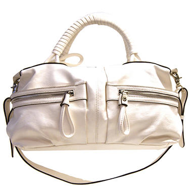 Fog by London Fog Cassie Satchel - White