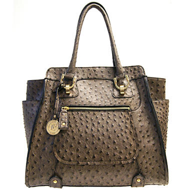 Fog by London Fog Knightsbridge Tote - Mink Ostrich