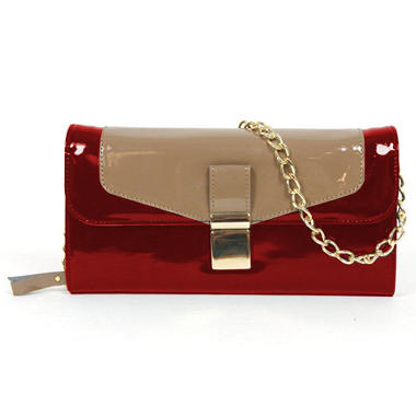 London Fog Essex Crossbody Bag - Red