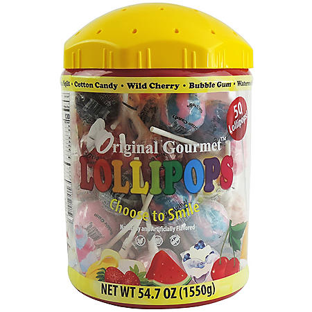 Original Gourmet Lollipop Tub (54.7oz.)