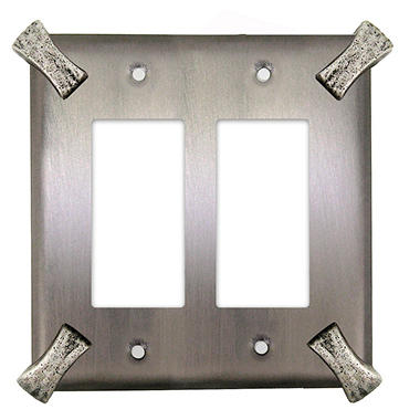 Martillo Double Decora GFI in Matte Pewter