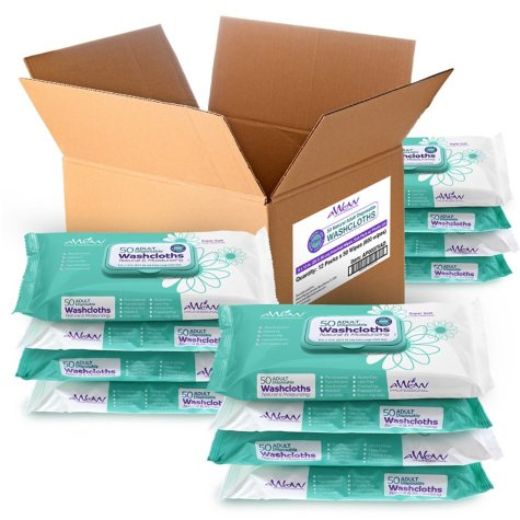 Adult Disposable Washcloths (576 ct.)