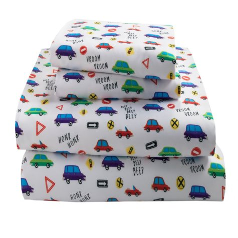 Kid's Printed Sheet Set (Assorted Prints and Sizes)