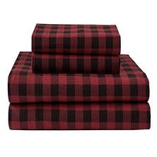 Winter Nights Flannel Sheet Set (Assorted Sizes)
