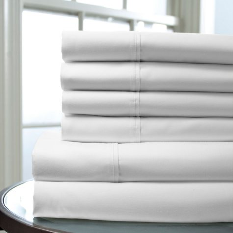 100% Cotton 400-Thread-Count Regency Sheet Set (Assorted Sizes and Colors)