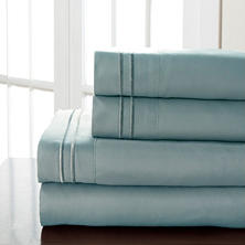 Hotel Double Marrow Microfiber Sheet Sets - Various Sizes & Colors