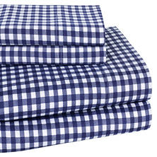 Harvard Print 300-Thread-Count 100% Cotton Sheet Set