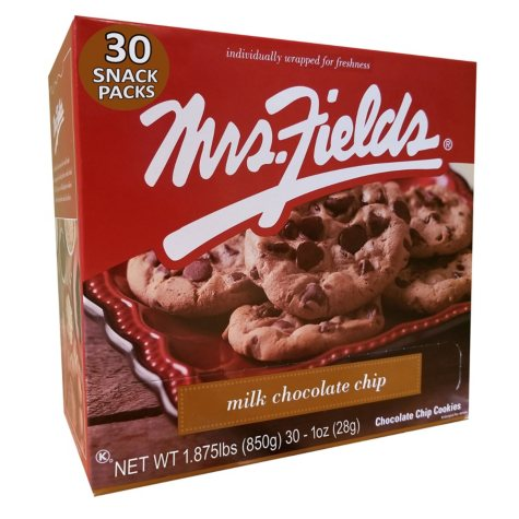 Mrs. Fields Milk Chocolate Chip Cookies (30 pk.)