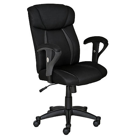 True innovations task chair black and white