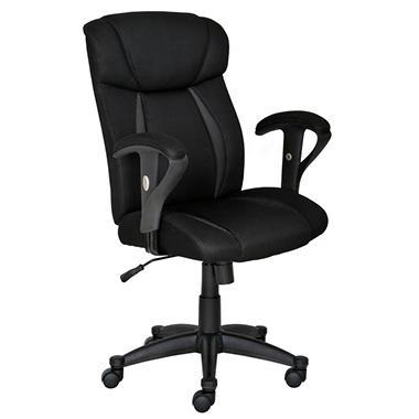 Charmant True Innovations   Super Task Chair   Black
