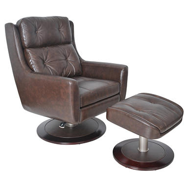 Executive Reclining Chair and Ottoman