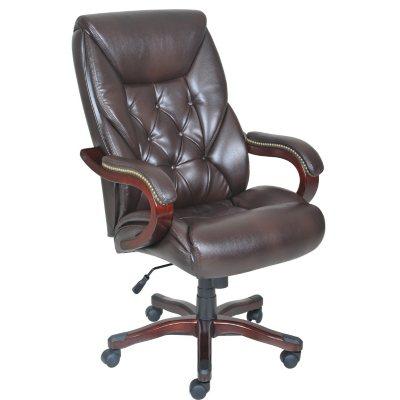 Lane Big Tall Bonded Leather Executive Chair Sams Club