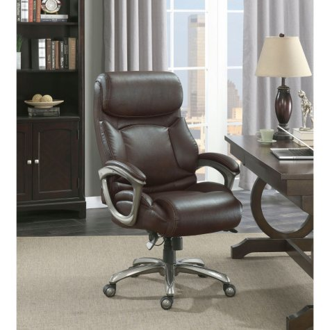 La-Z-Boy Martin Big & Tall Executive Office Chair, Brown