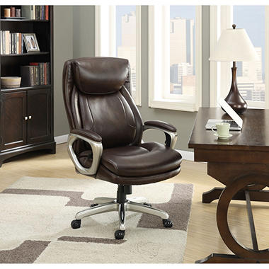 la-z-boy connelly big & tall executive chair, brown - sam's club