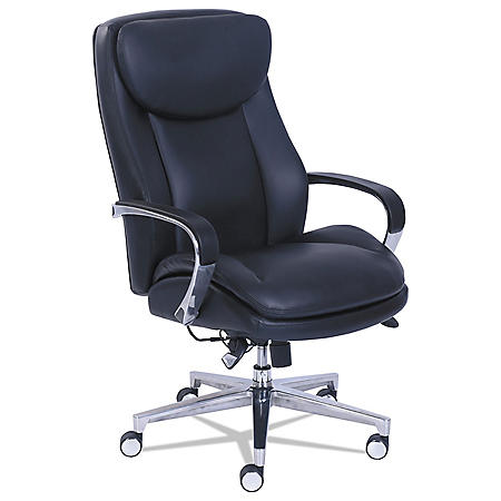 La-Z-Boy Commercial 2000 High-Back Executive Chair with Dynamic Lumbar Support, Black