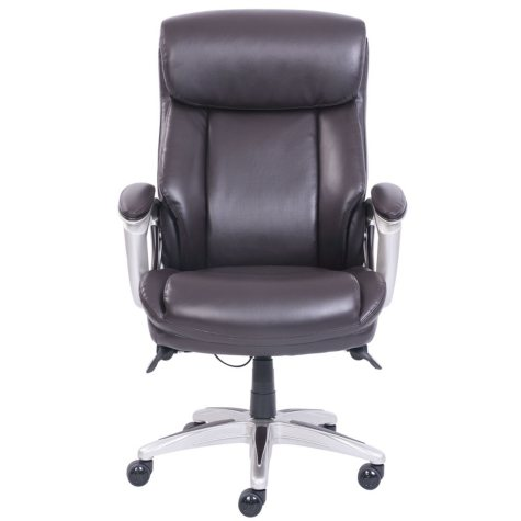 La-Z-Boy Alston Big & Tall Executive Chair, No-Tools Assembly (Supports up to 350lbs)
