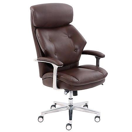 La-Z-Boy Luxury Big & Tall Executive Chair, Magic Lumbar (Supports up to 400 lbs.)
