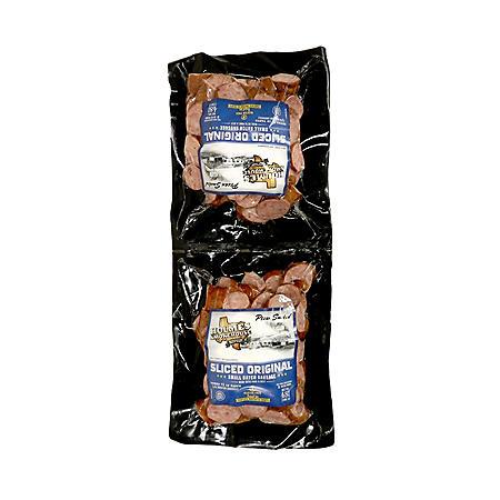Holmes Smokehouse Pecan Smoked Original Sausage Slices (48 oz.)