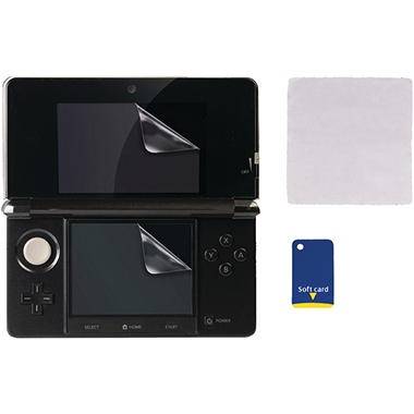 CTA Screen Protector Kit for the Nintendo 3DS