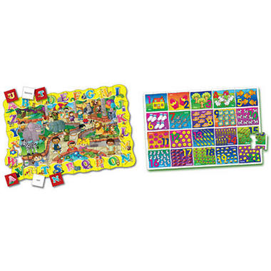 Double Learning Puzzles - 2 pk.