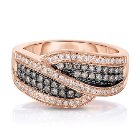 0.50 CT. T.W. Diamond Ring in 14K Rose Gold