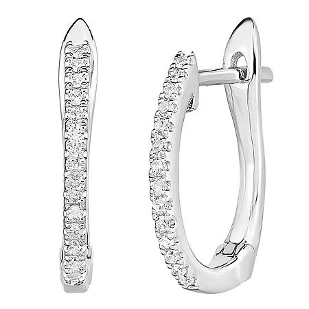 0.15 CT. TW. Diamond Earrings in 14 Karat Gold