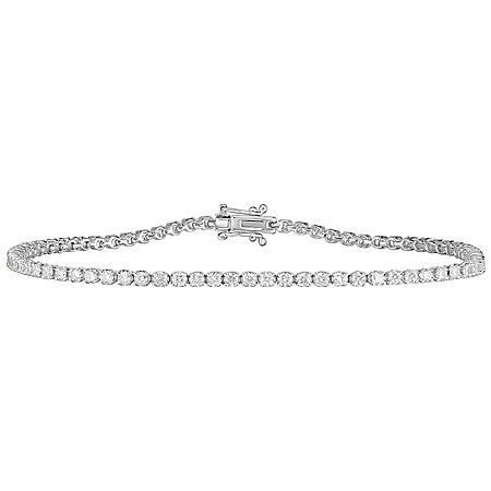1.75 CT. T.W. Diamond Tennis Bracelet in 14 Karat Gold