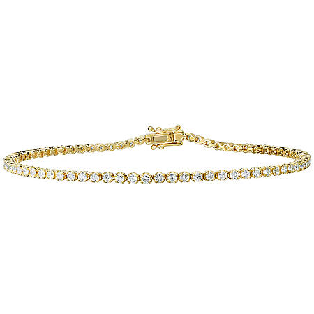 1.75 CT. T.W. Diamond Tennis Bracelet in 14 Karat Gold