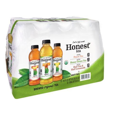 Honest Tea Variety Pack (16.9 fl. oz. bottles, 12 pk.)
