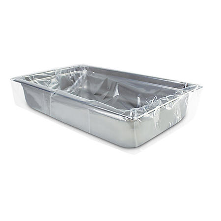 """PanSaver Ovenable Pan Liners for Full Size Pan - Shallow and Medium (2.5"""" to 4"""") Depth"""